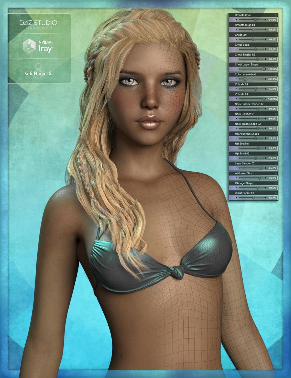 Genesis 8 Female Body Morph Resource Kit 2 by: ThorneHandspan Studios, 3D Models by Daz 3D
