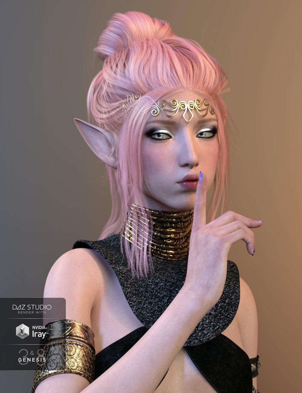 Layla for Genesis 3 & 8 Female by: Cherubit, 3D Models by Daz 3D