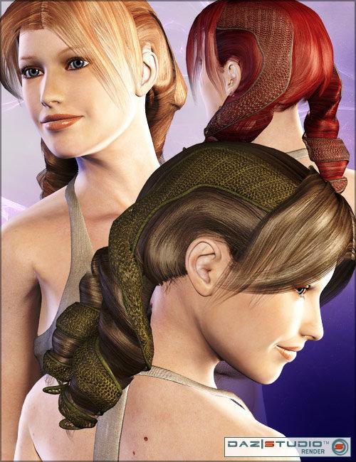 Shigi Hair by: LesthatoutoftouchVal3dart, 3D Models by Daz 3D