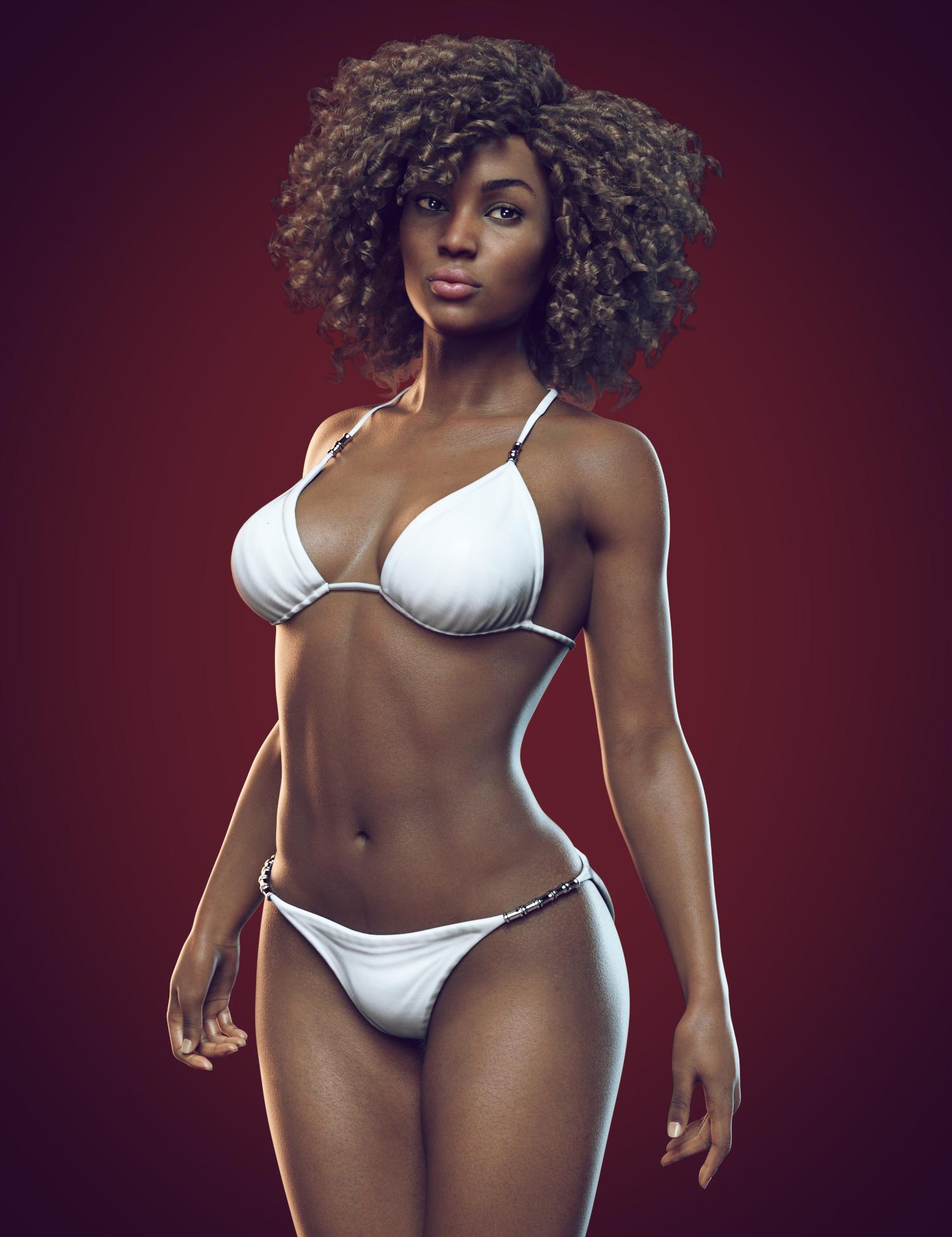 Monique 8 by: , 3D Models by Daz 3D