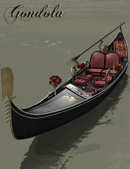 Gondola by: Faveral, 3D Models by Daz 3D