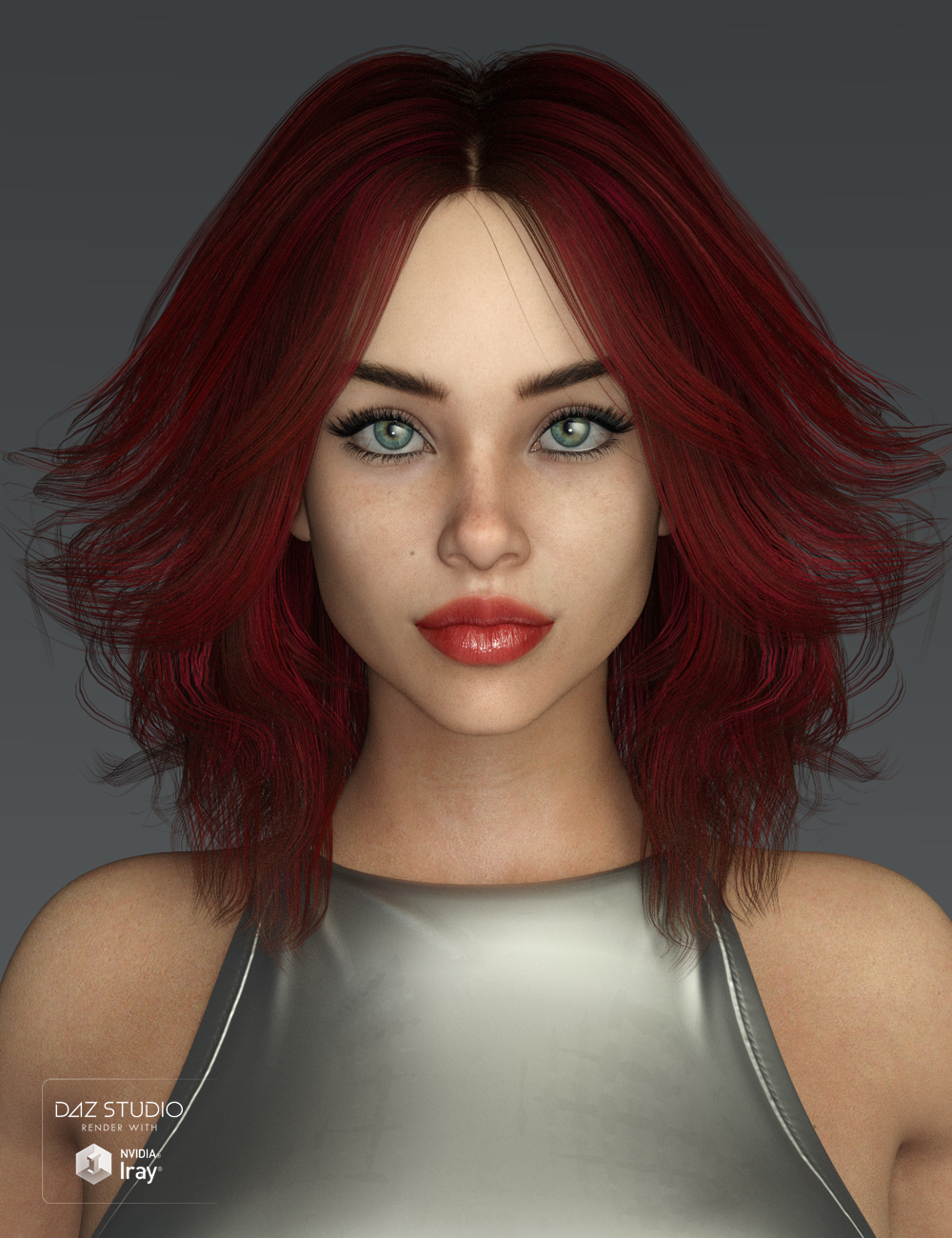 Riona Hair for Genesis 3 and 8 Female(s) by: SWAM, 3D Models by Daz 3D