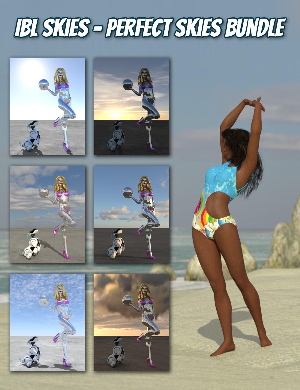 IBL Skies - Perfect Skies Bundle by: Denki Gaka, 3D Models by Daz 3D