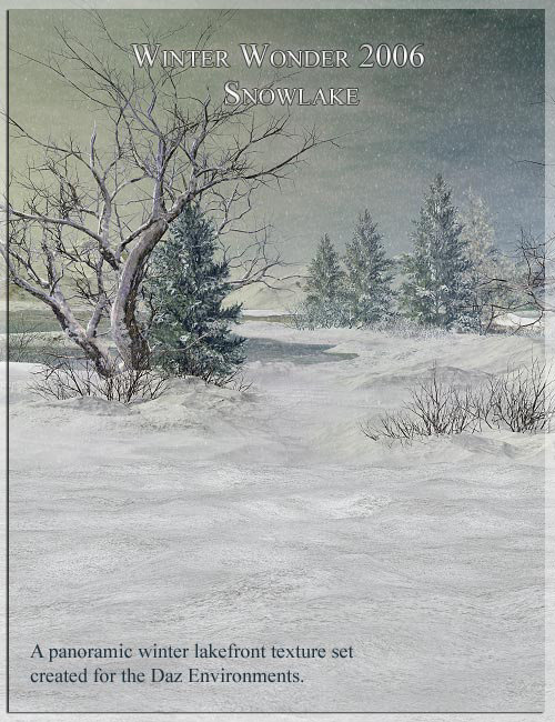 Winter Wonder 2006 -- Snow Lake by: LaurieS, 3D Models by Daz 3D