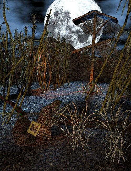 DeadCorn Bundle by: Gareee, 3D Models by Daz 3D