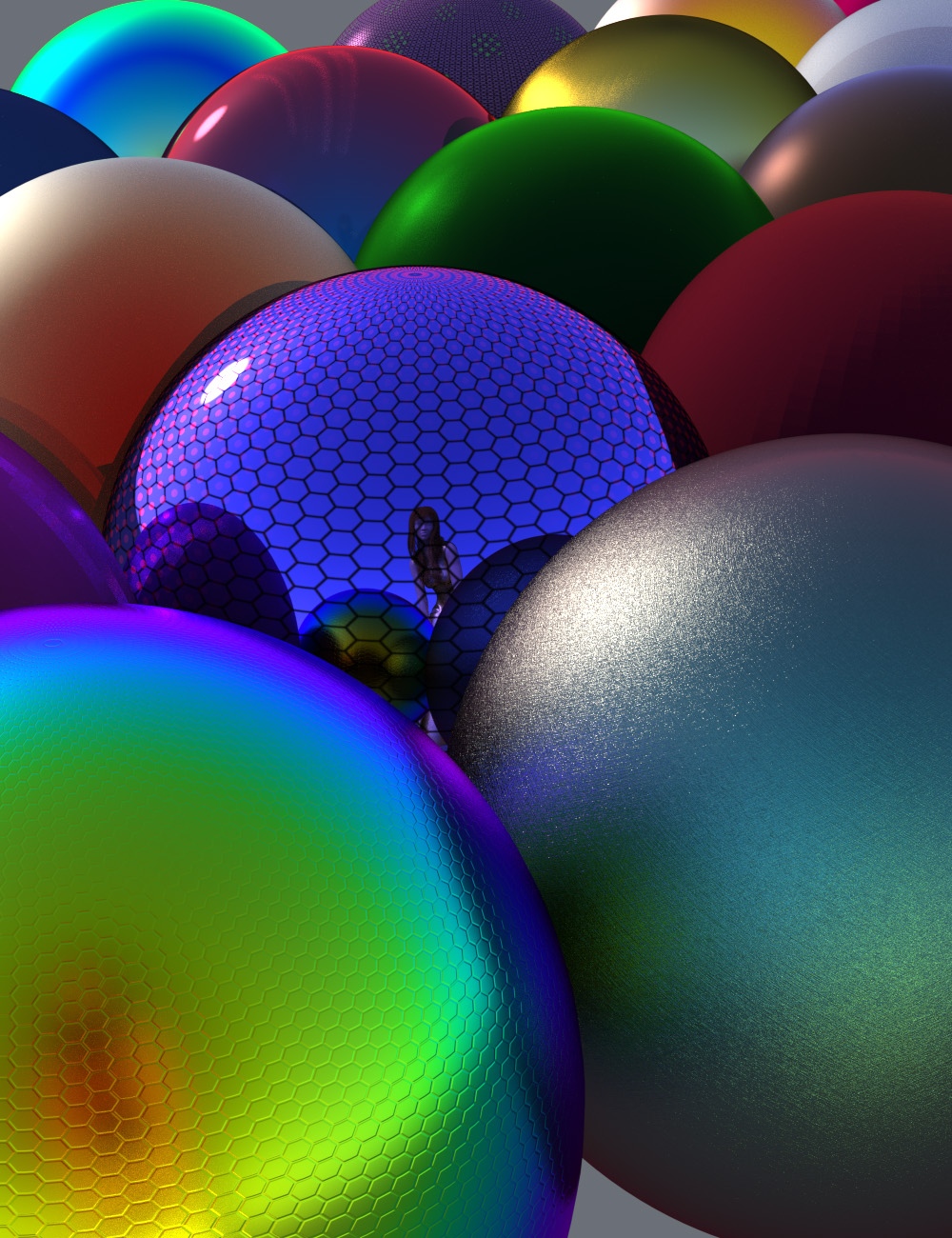 Iridescent Shaders for Iray by: Oso3D, 3D Models by Daz 3D
