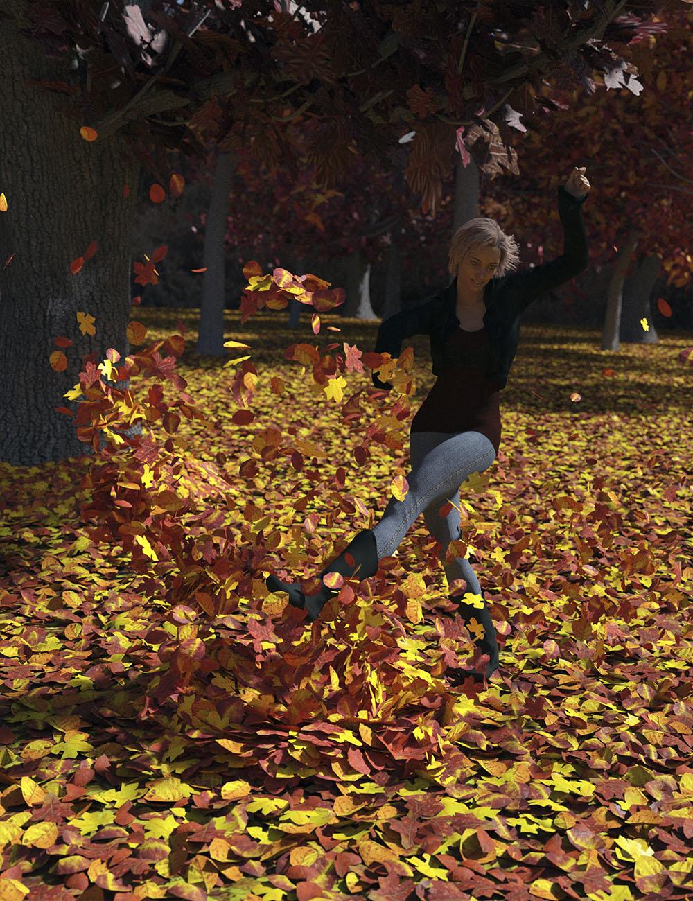 Autumn Leaves by: Orestes Graphics, 3D Models by Daz 3D
