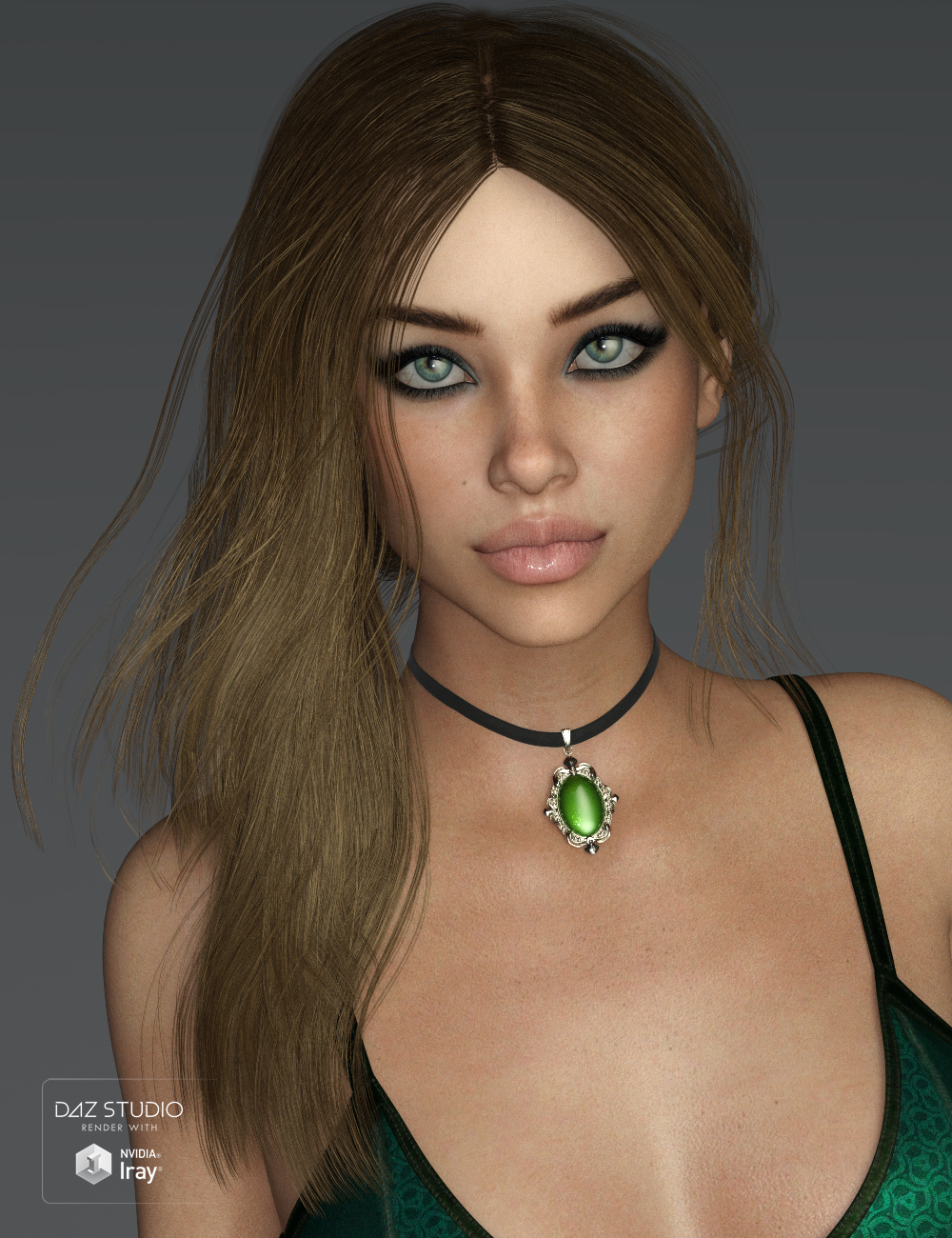 Vivacious Hair for Genesis 3 and 8 Female(s) by: SWAM, 3D Models by Daz 3D