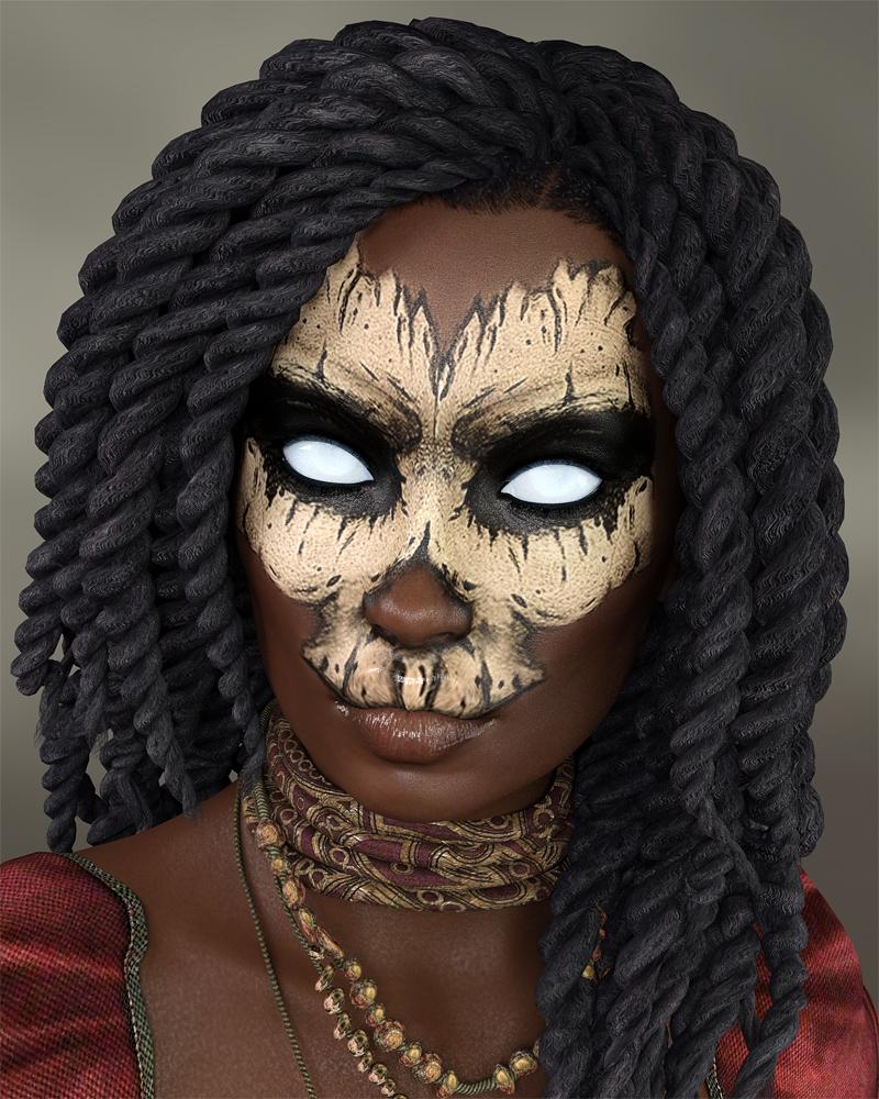Hex for Genesis 8 Female by: TwiztedMetal, 3D Models by Daz 3D