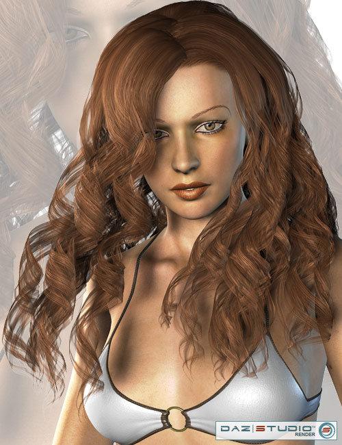 Amarseda Hair by: AprilYSH, 3D Models by Daz 3D