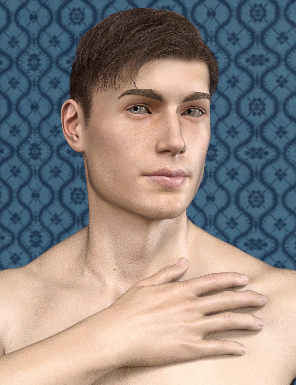 SF Beautiful Skin Iray Genesis 8 Male by: SickleyieldFuseling, 3D Models by Daz 3D