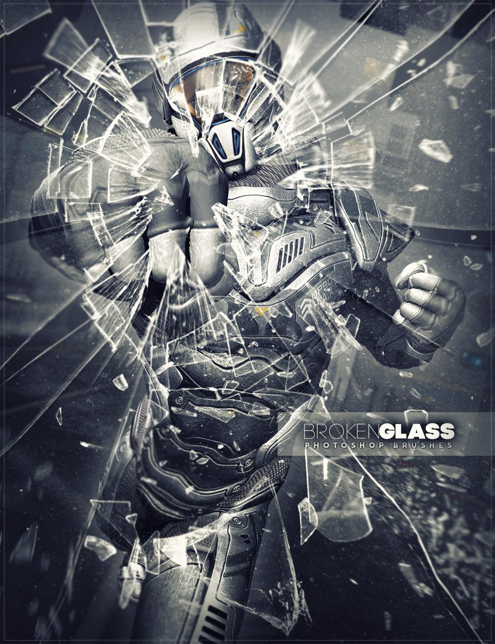 Ron's Broken Glass by: deviney, 3D Models by Daz 3D