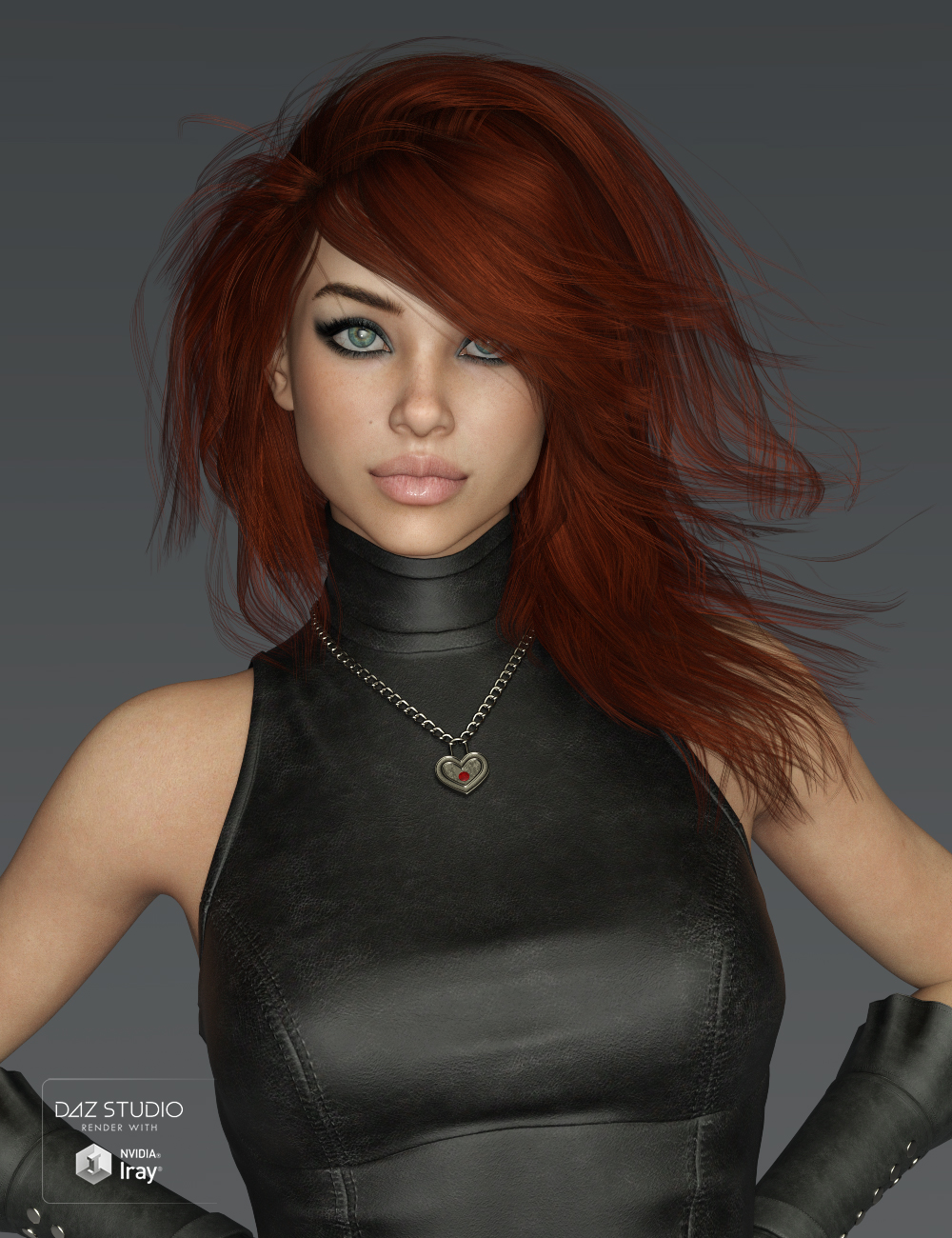 Mystical Hair for Genesis 3 and 8 Female(s) by: SWAM, 3D Models by Daz 3D