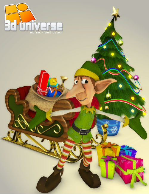 Toon Christmas by: 3D Universe, 3D Models by Daz 3D