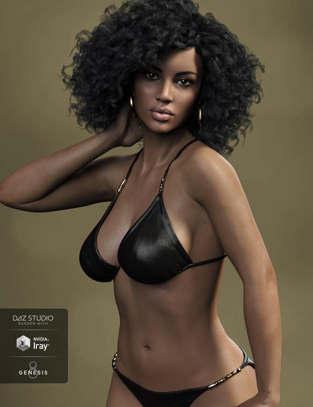 FW Laverne HD for Monique 8 by: Fred Winkler Art, 3D Models by Daz 3D