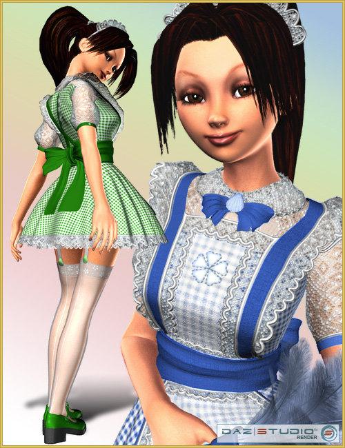 Freshly Maid by: MAB, 3D Models by Daz 3D