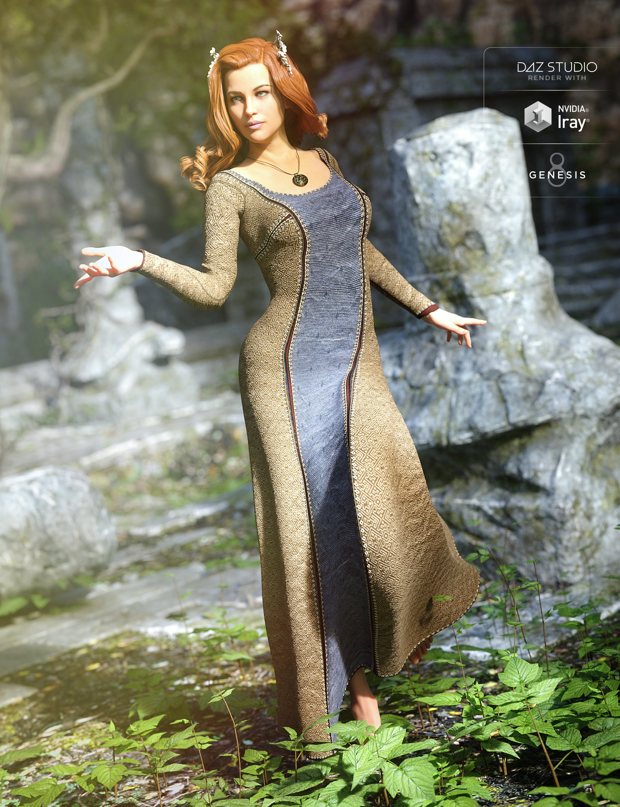 Sighni Outfit for Genesis 8 Female(s) by: JGreenleesPoisenedLily, 3D Models by Daz 3D