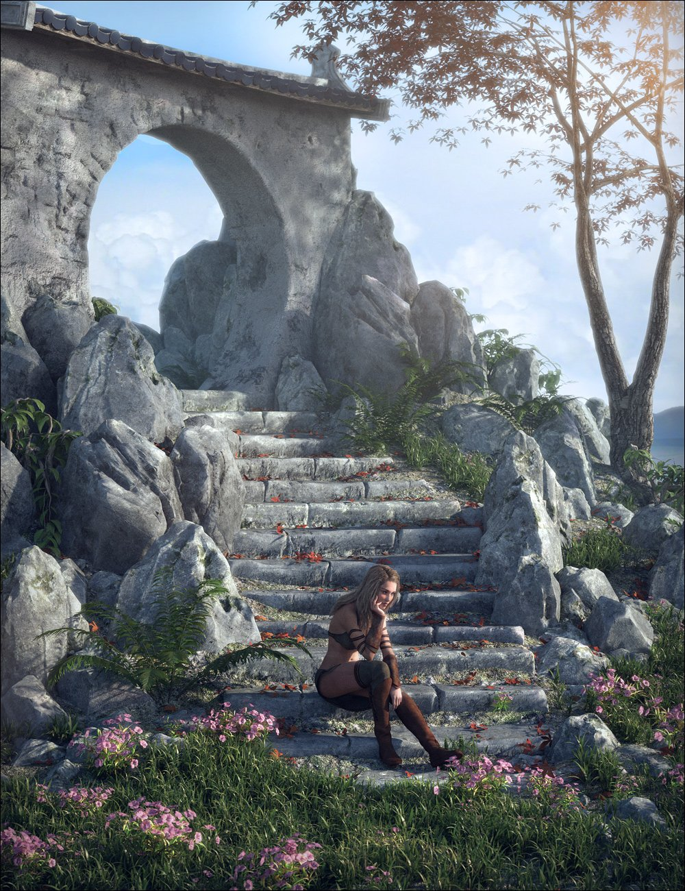 The Heart Of The East by: Stonemason, 3D Models by Daz 3D