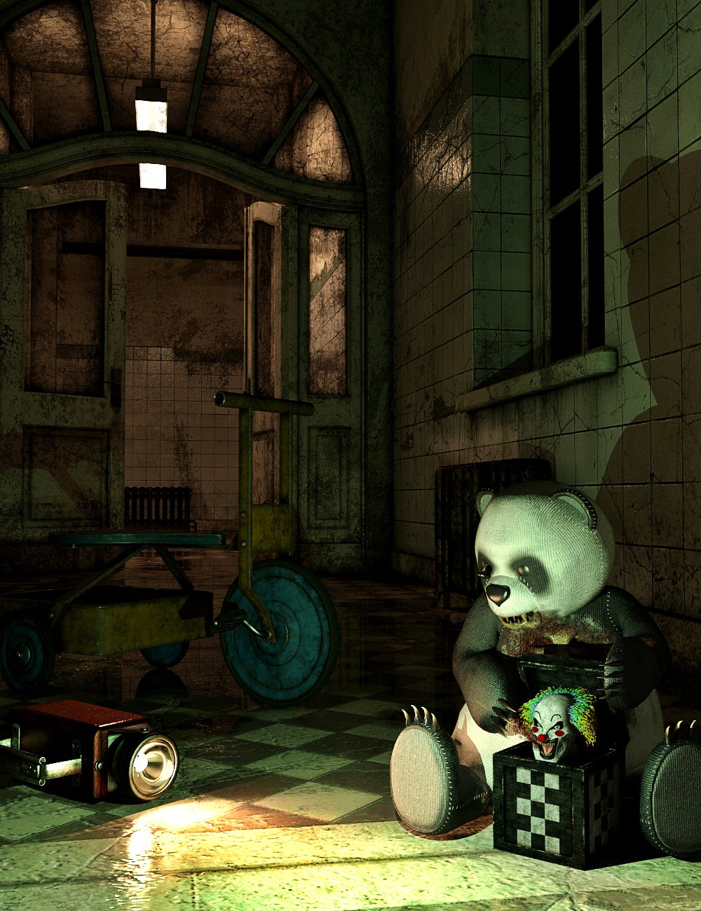 Haunted Toys by: ARTCollab, 3D Models by Daz 3D