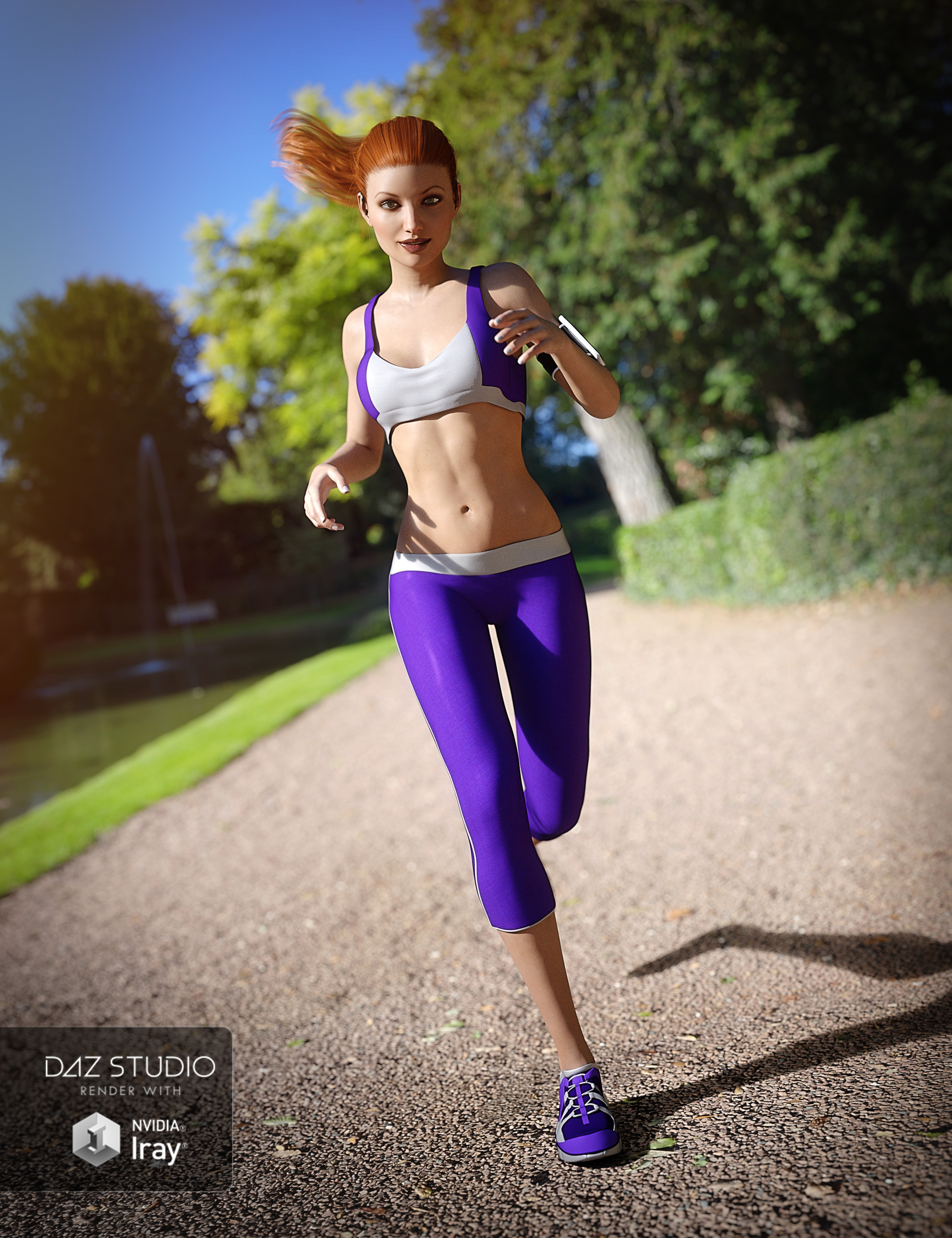 UltraHD IRAY HDRI With DOF - Parks and Creation by: Cake OneBob Callawah, 3D Models by Daz 3D