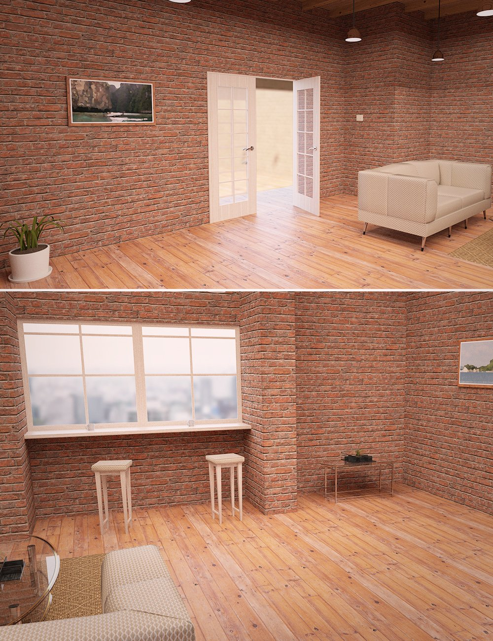 The Cozy Room by: , 3D Models by Daz 3D