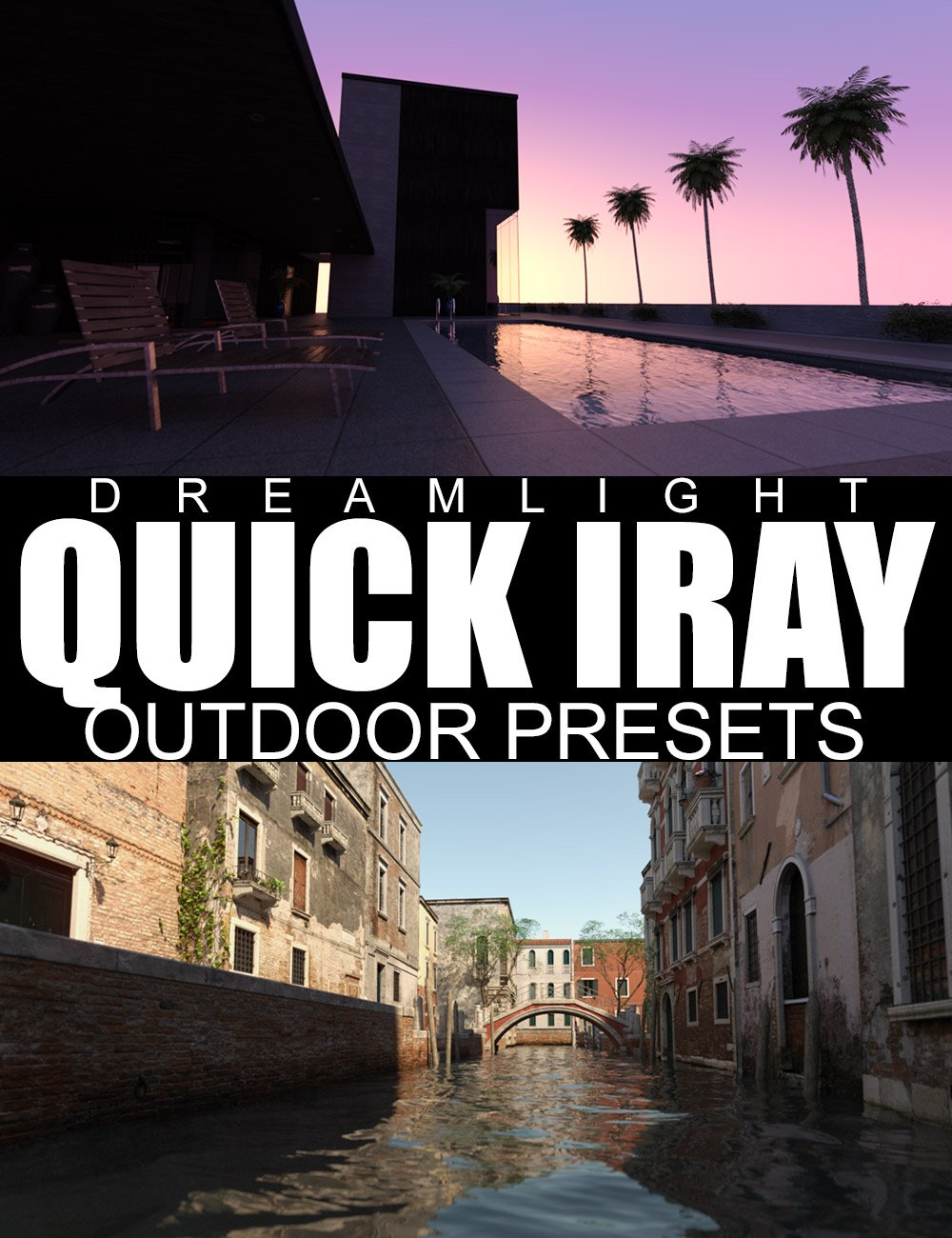 Quick Iray Outdoor Presets by: Dreamlight, 3D Models by Daz 3D