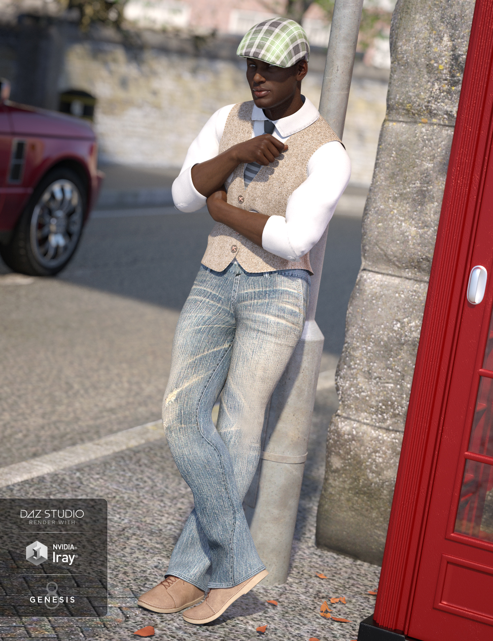 Smooth Talker Outfit for Genesis 8 Male(s) by: Shox-DesignNikisatez, 3D Models by Daz 3D