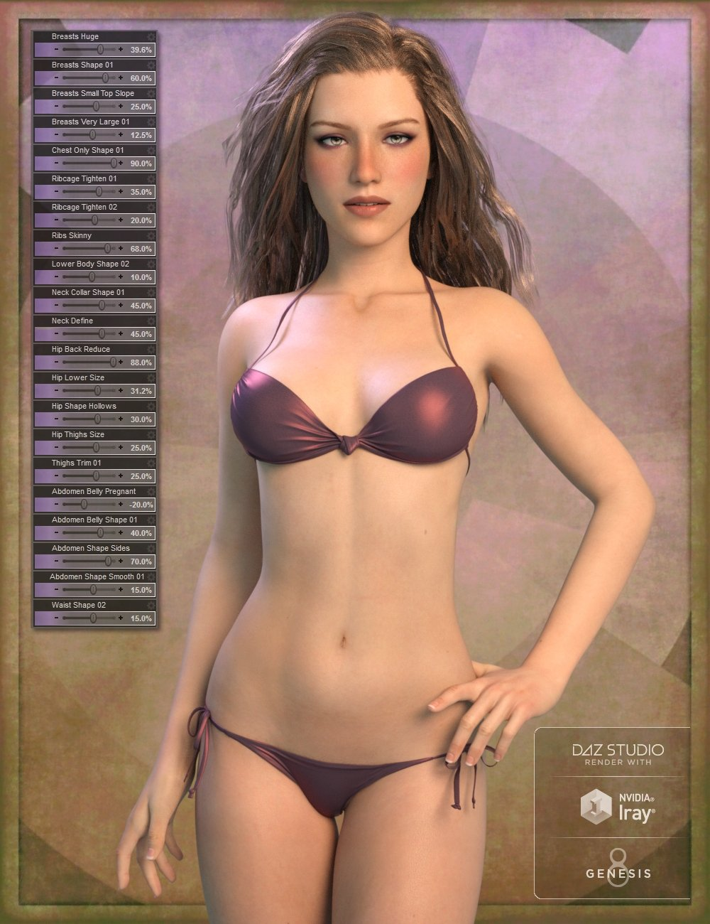 Genesis 8 Female Body Morph Resource Kit 3 by: ThorneHandspan Studios, 3D Models by Daz 3D