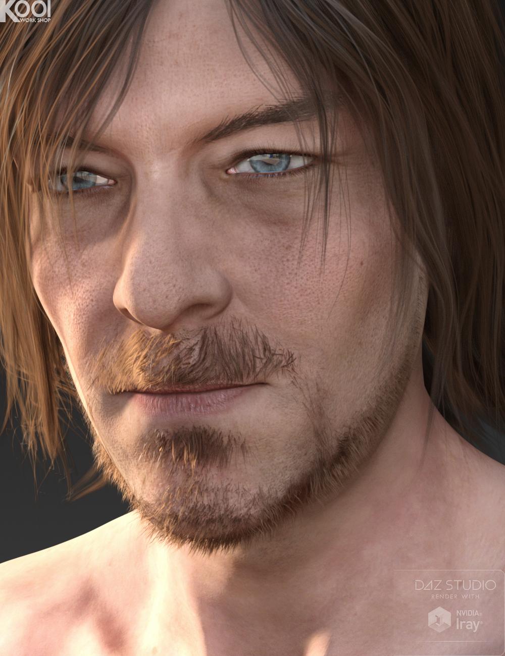 Willis HD for Genesis 3 Male by: Kool, 3D Models by Daz 3D