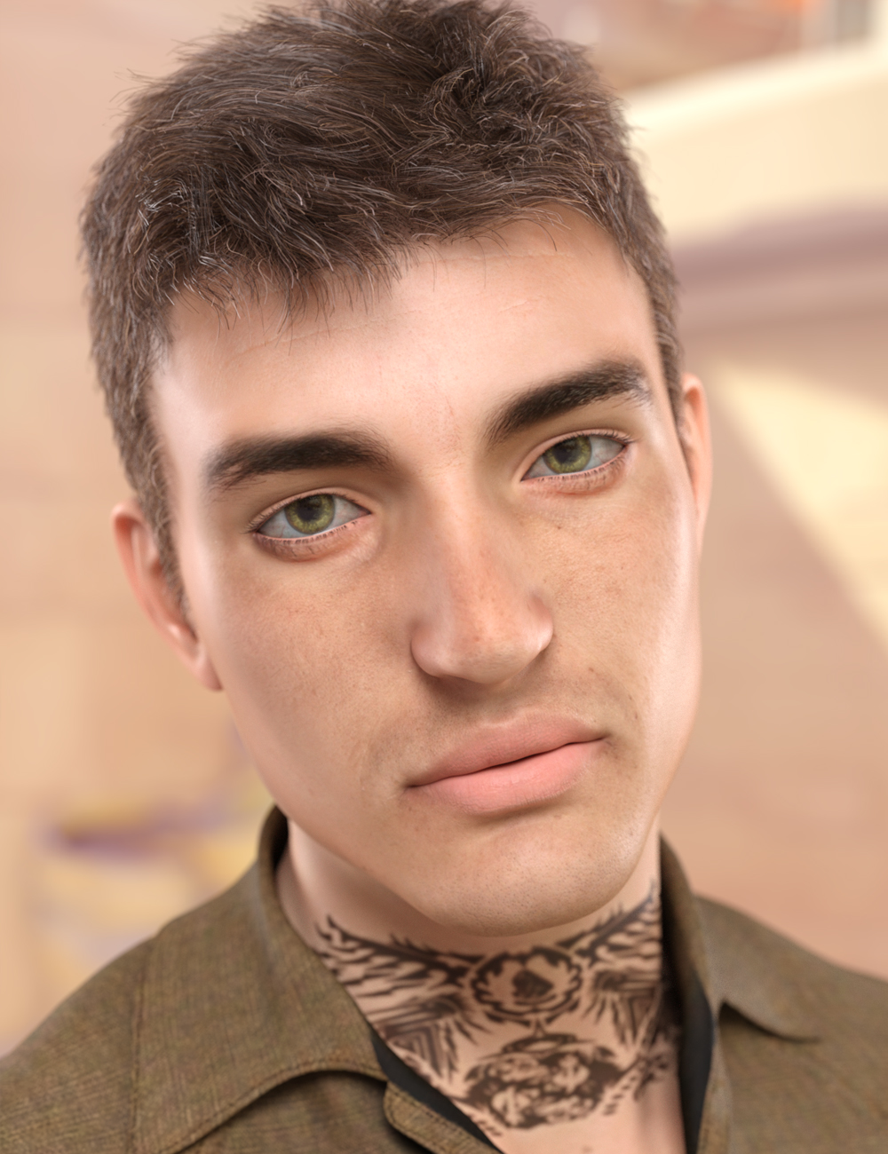 Robert for Genesis 8 Male by: VincentXyooj, 3D Models by Daz 3D