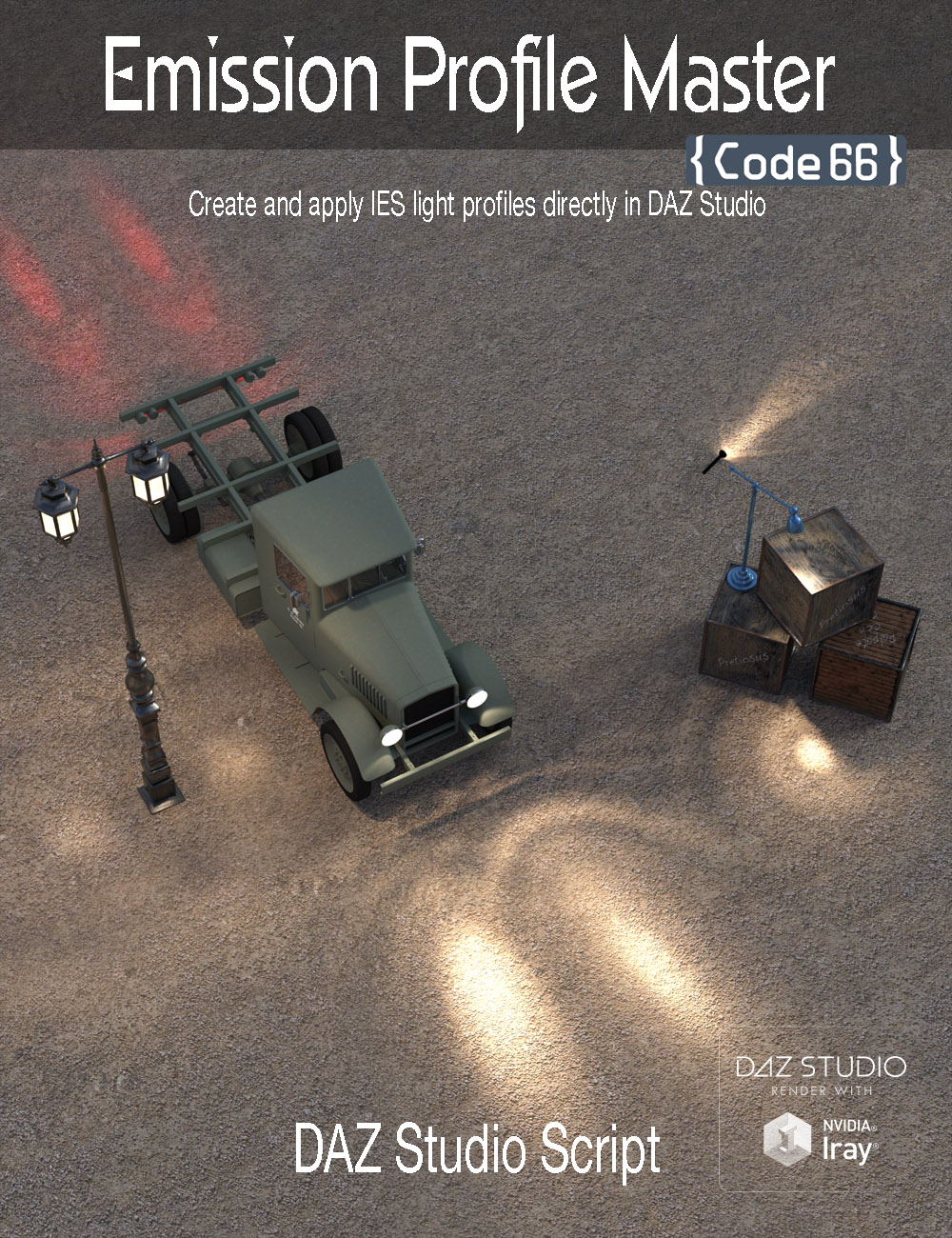 Emission Profile Master by: Code 66, 3D Models by Daz 3D