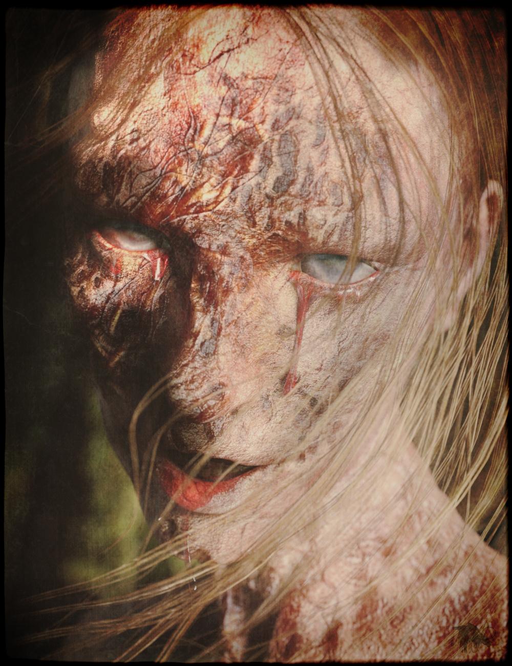 Horrifying Skins for Genesis 3 and 8 Female by: ImagineX, 3D Models by Daz 3D