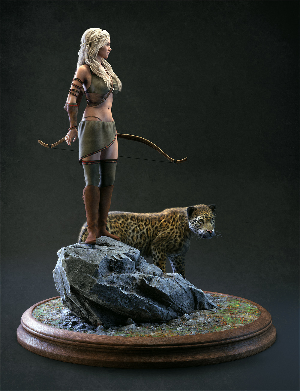 Diorama Bases Pack 01 by: Stonemason, 3D Models by Daz 3D