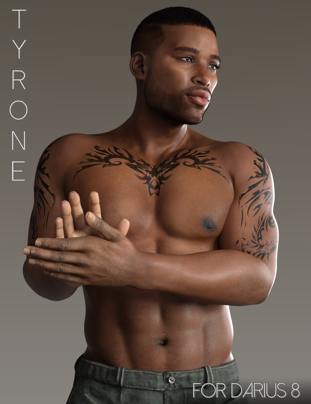 Tyrone for Darius 8 by: RedzStudio, 3D Models by Daz 3D
