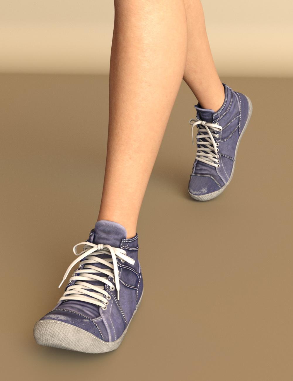JooJoo Sneakers for Genesis 8 Female(s) by: chungdan, 3D Models by Daz 3D