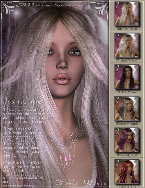 Allura-PowerPak by: Magix 101, 3D Models by Daz 3D