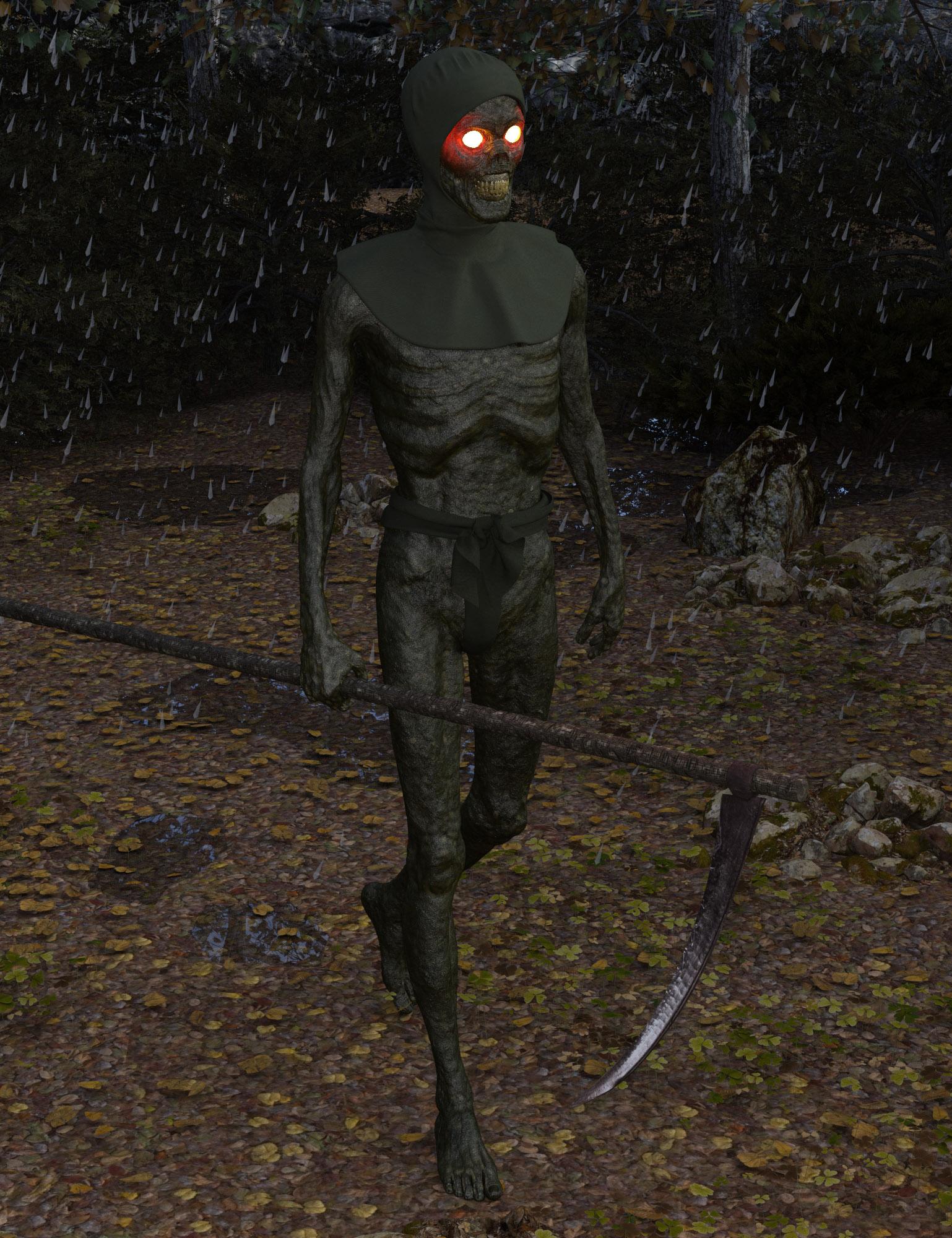 Medieval Death HD for Genesis 8 Male by: Oskarsson, 3D Models by Daz 3D