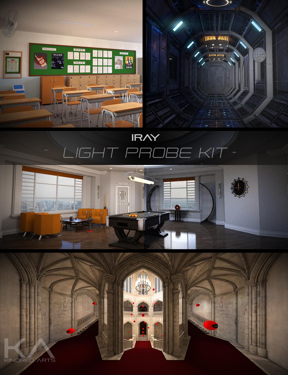 Iray Light Probe Kit by: KindredArts, 3D Models by Daz 3D
