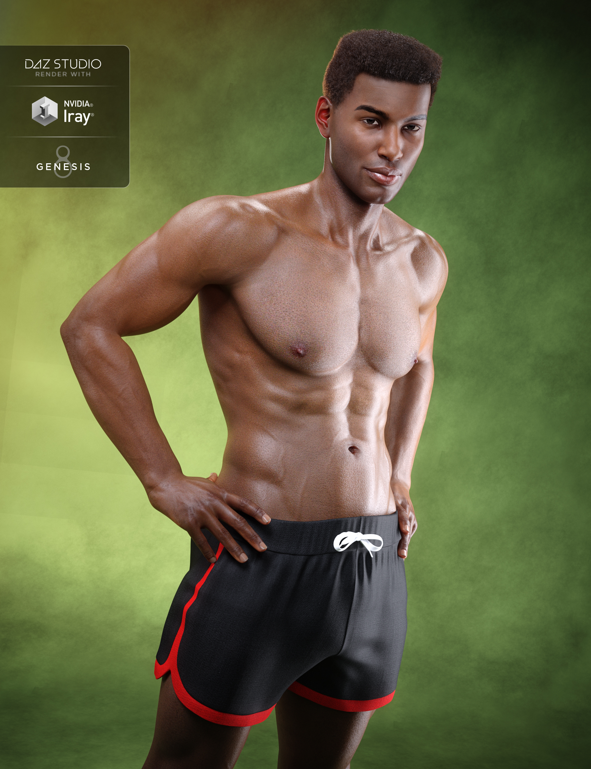 Darius 8 by: , 3D Models by Daz 3D