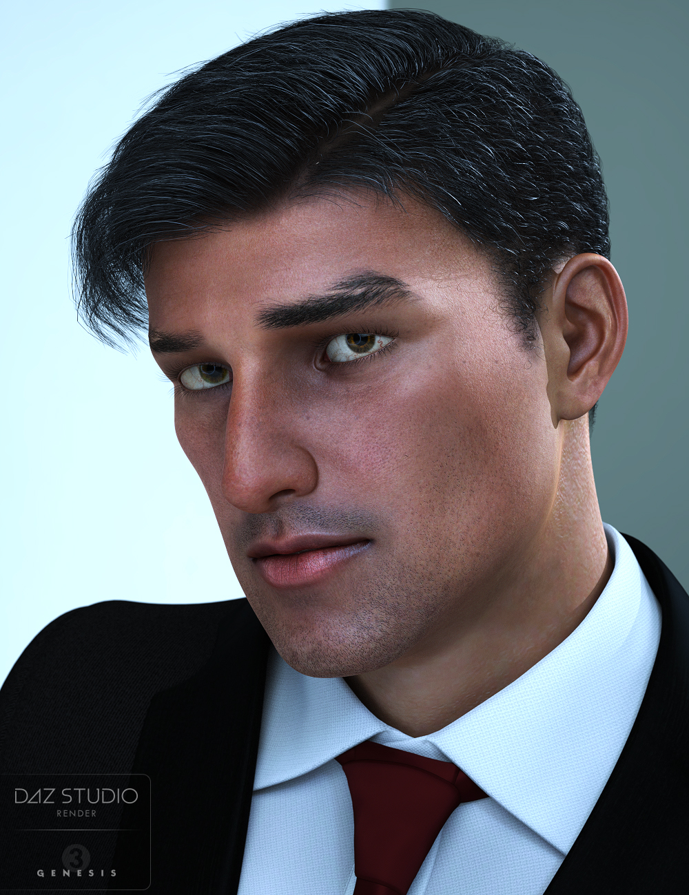 Giovanni for Genesis 3 and 8 Male(s) by: Darwins Mishap(s), 3D Models by Daz 3D