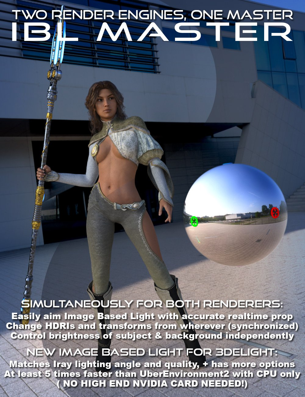 IBL Master for Daz Studio by: Parris, 3D Models by Daz 3D