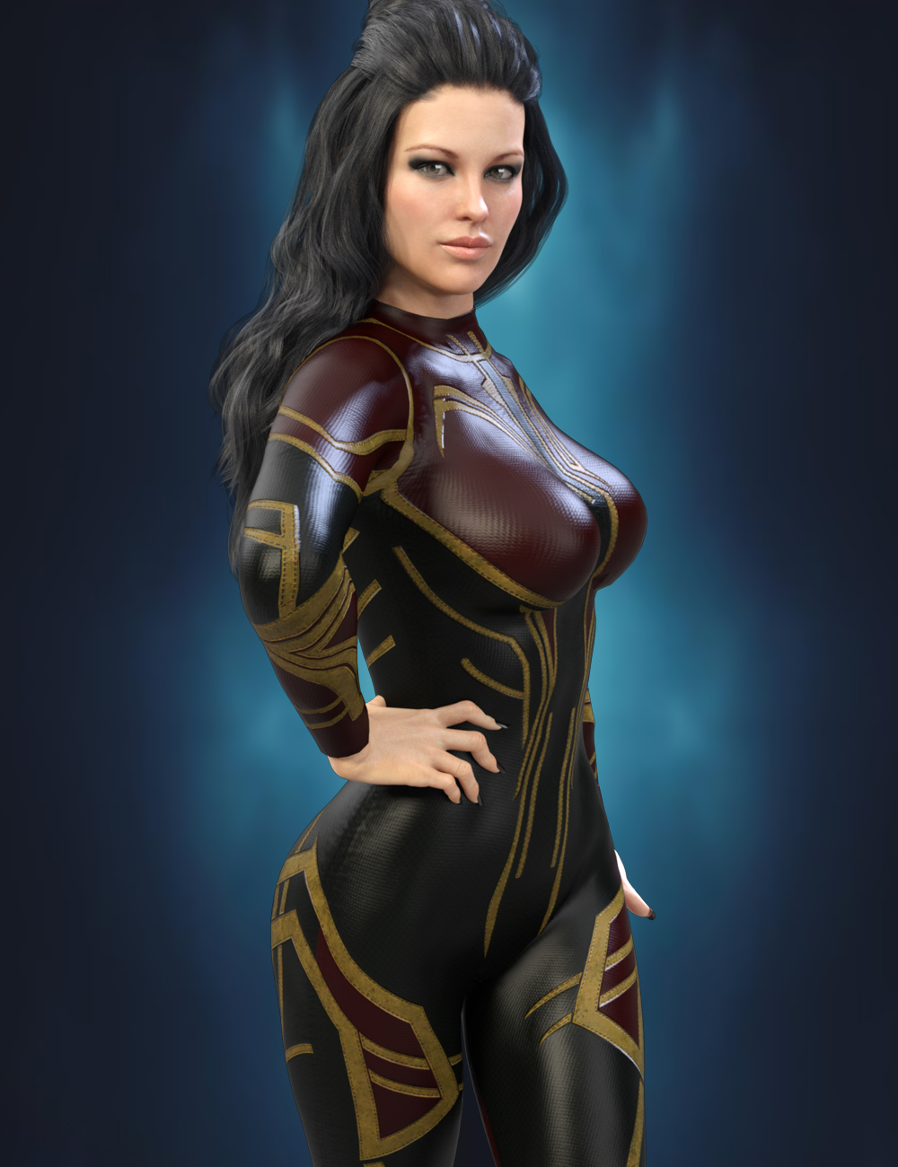 X-Fashion Sci Bodysuit for Genesis 8 Female(s) by: xtrart-3d, 3D Models by Daz 3D