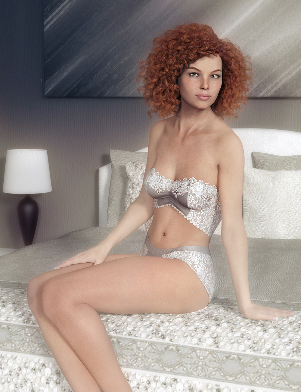 FWSA Erynn HD for Victoria 8 and LF Erynn Lingerie by: Fred Winkler ArtSabbyLilflame, 3D Models by Daz 3D