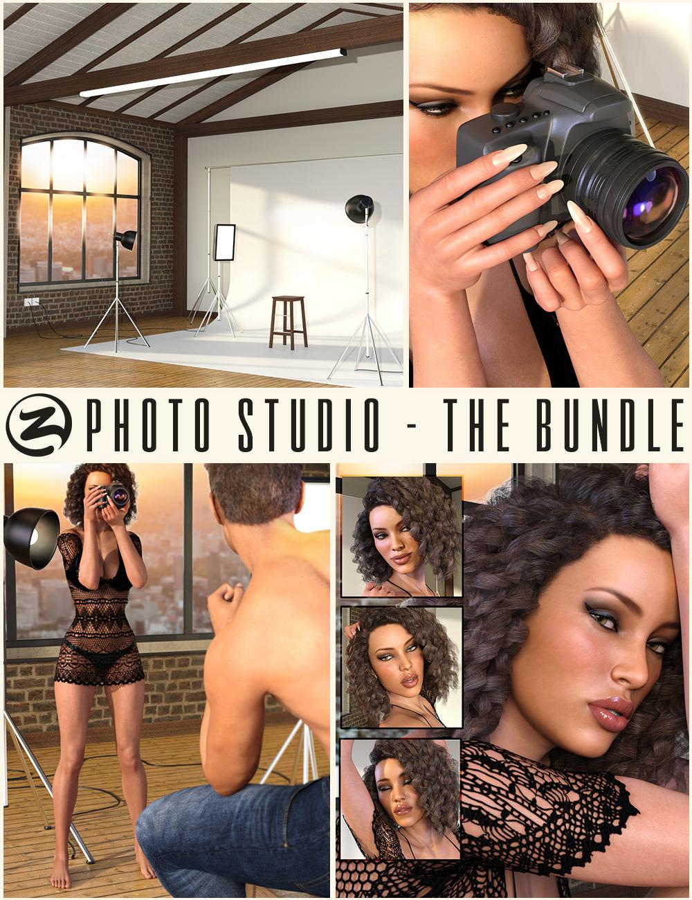 Z Photo Studio Bundle by: Zeddicuss, 3D Models by Daz 3D
