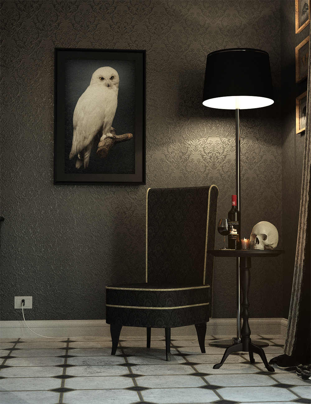 Lights And Cameras For The Venezia Suite by: Stonemason, 3D Models by Daz 3D