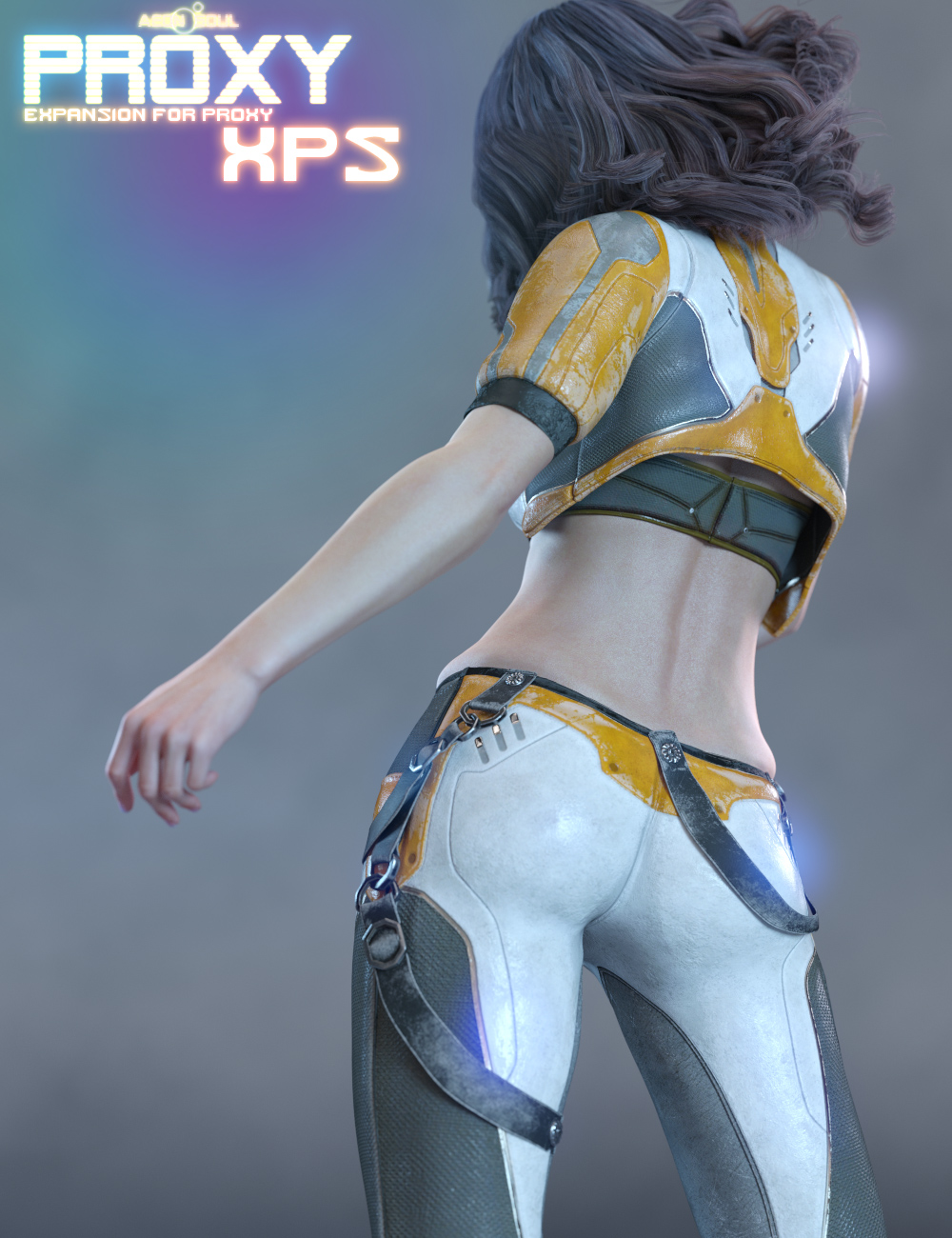 Proxy XPS: Tau Ceti Futuristic Styles for Proxy by: Aeon Soul, 3D Models by Daz 3D