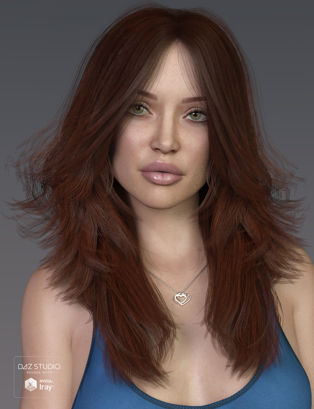 Alina Hair for Genesis 3 and 8 Female(s) by: SWAM, 3D Models by Daz 3D