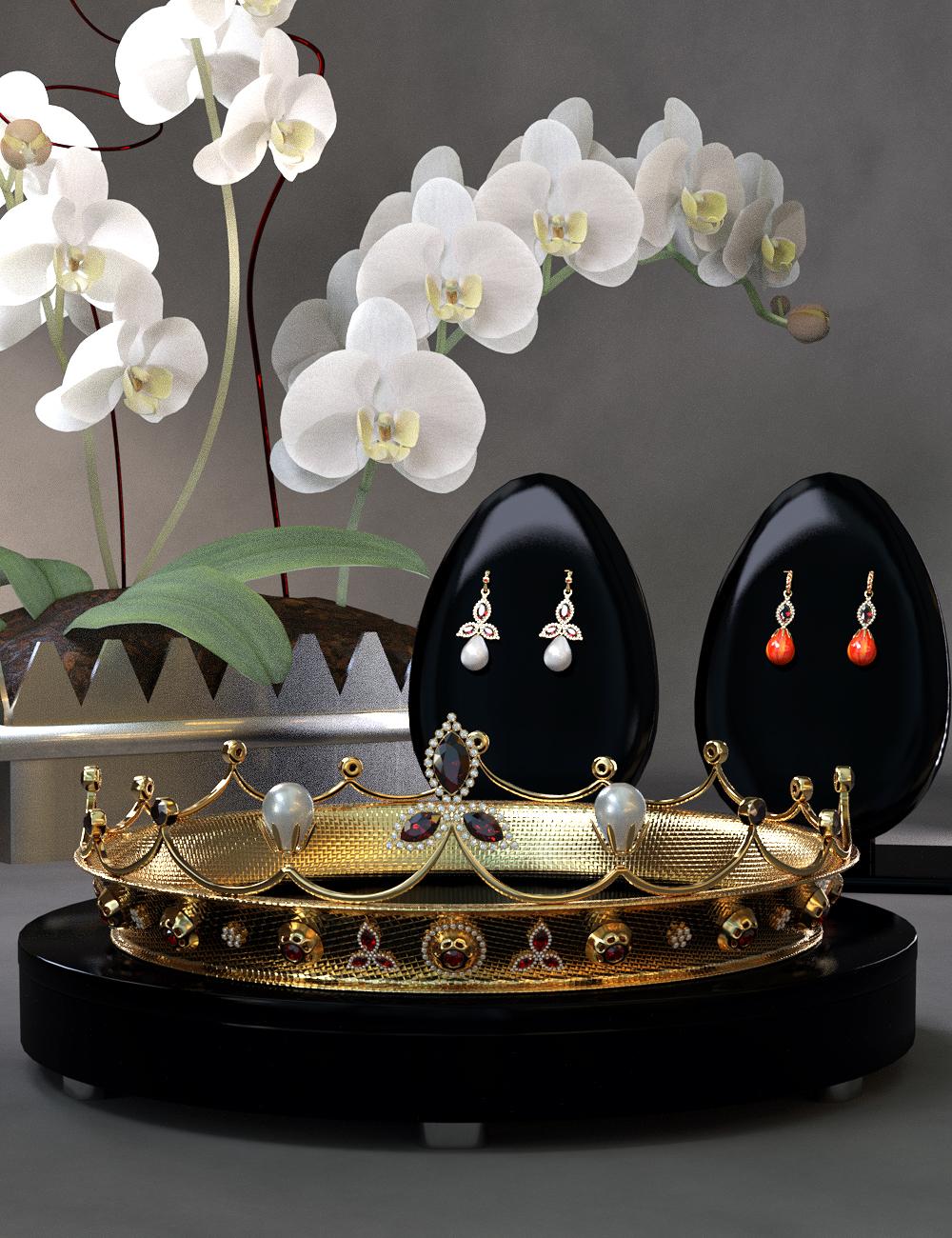 Royal Jewels for Genesis 8 Female(s) by: Titan XiVirtual_World, 3D Models by Daz 3D