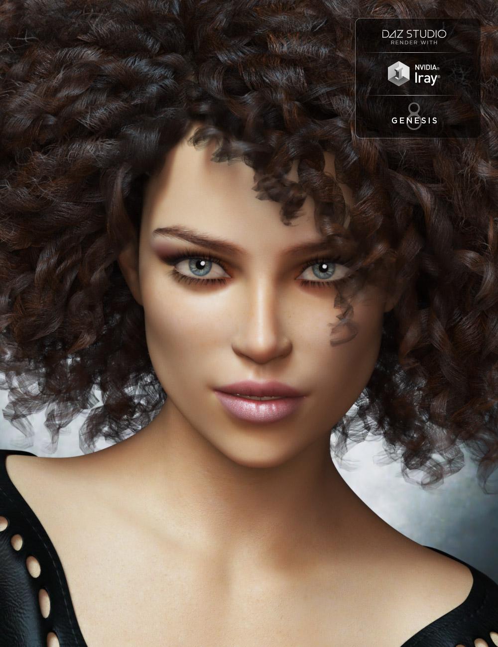Delaney for Genesis 8 Female by: Mousso, 3D Models by Daz 3D