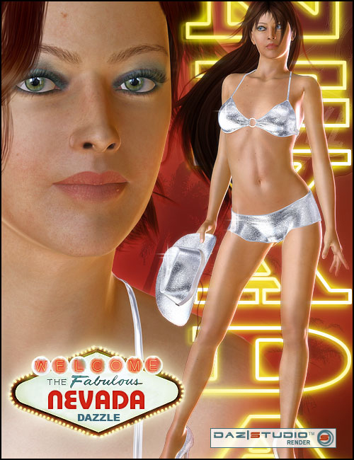 Nevada for Victoria 4 by: KymJ, 3D Models by Daz 3D